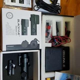 Blackvue DR650GW-2CH Dual wi-fi HD 1080p 64GB with Cellink B