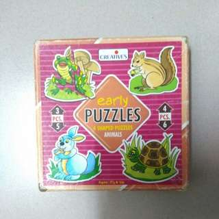 Early puzzles