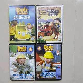 Authentic Bob The Builder DVD