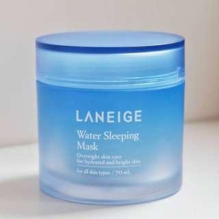 Preloved Laneige Water Sleeping Mask