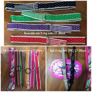 One Lot of kids belt (for reselling)