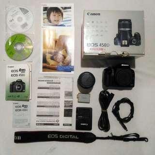 DSLR Canon 450D