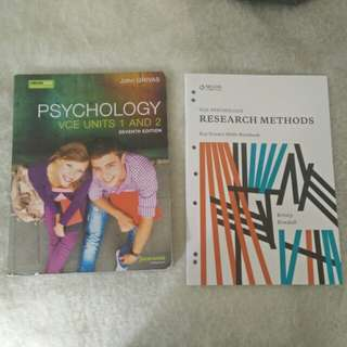Psychology 1&2 Textbook and Research Methods