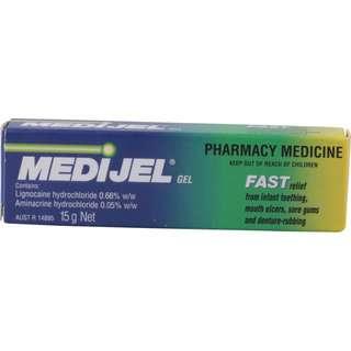 Medigel- mouth ulcers gel