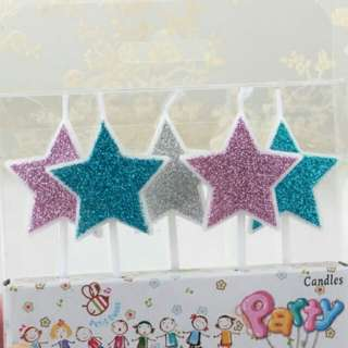Star Candles for cakes