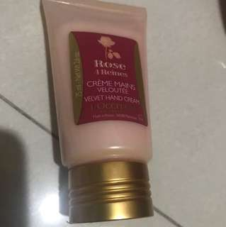 Loccitane rose hand cream