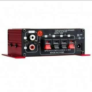 kinter ampli utk speaker dgn 2 channel