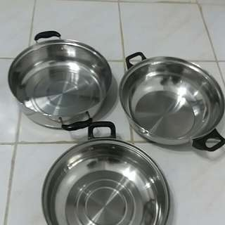Induction cooker pans Bundle