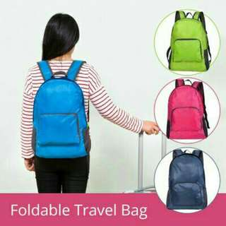 KOREA MULTIFUNCTION FOLDABLE BACKPACK