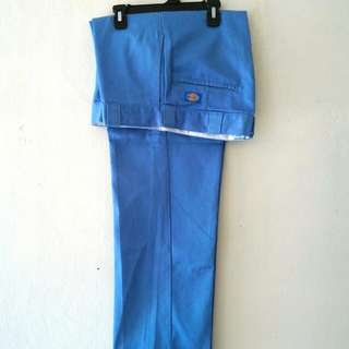 Dickies Long Pant Original fit Colour Light Blue Made in USA