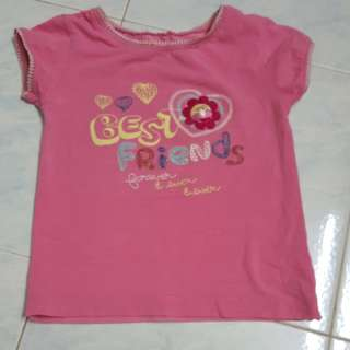 Jumping Beans pink blouse