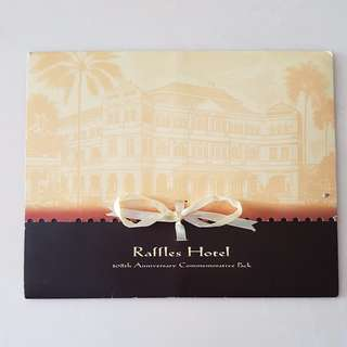 Raffles Hotel 108th Anniversary commemorative pack