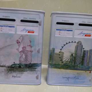 Singapore Post coin bank