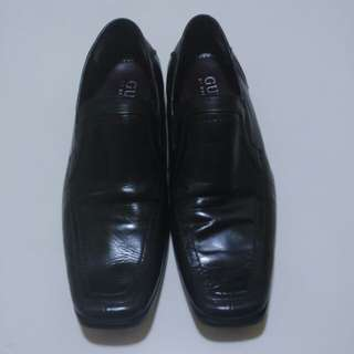 Pre - loved Men's Gmboris Leather Black Shoes