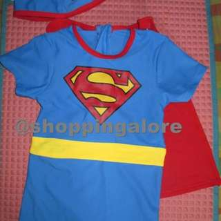 Baby superman rush guard