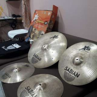 Sabian XS20 Performance Set Cymbals