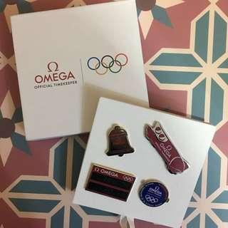 OMEGA X OLYMPIC 2018 奧運襟針