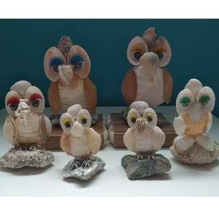 Seashell Art - OWL (Single)