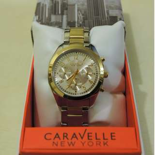 100% NEW Caravelle New York Women's Watch