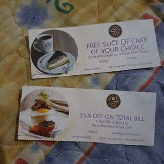 The Coffee Bean Discount Cards