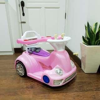 Baby/Toddler motorised vehicle (pink)