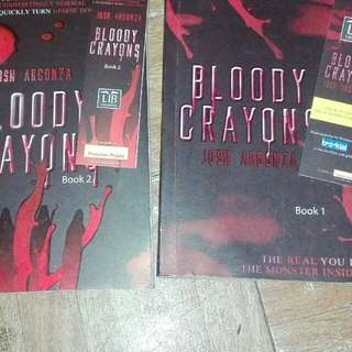 Bloody Crayons Book 1 and Book 2