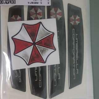 Umbrella Corporation Car Side Bumper