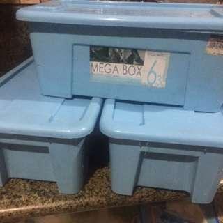 Storage boxes (3pcs)