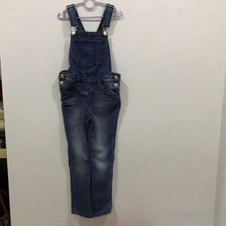 H&M jeans jumpsuit for girls