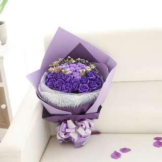 紫色香梘花 2月14日 可另加送貨費安排送貨
