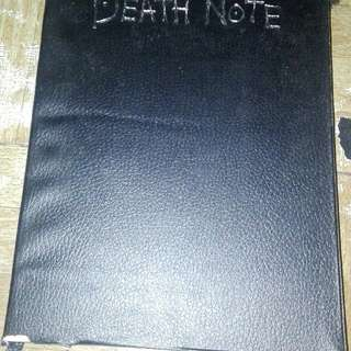 Death Note notebook