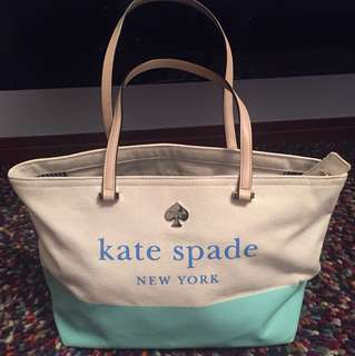 100%REAL 95%New Kate spade 休閒手袋