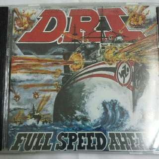 Music CD (Metal, Thrash): Dirty Rotten Imbeciles / D.R.I.–Full Speed Ahead