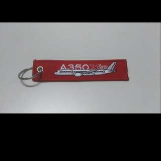 Keychain REMOVE BEFORE FLIGHT Airbus A350 XWB