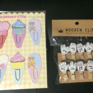 Stationery Clips