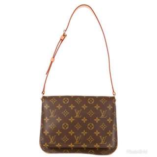 Louis Vuitton Musette Tango Monogram Shoulder Bag