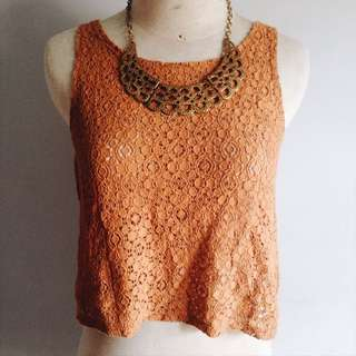 Forever 21 - Lace Tanktop