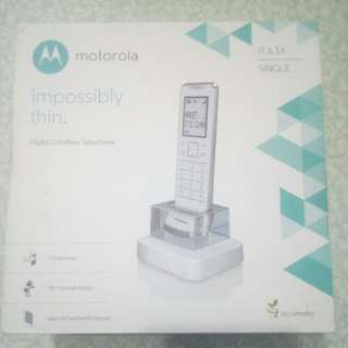 Motorola impossiby thin. IT.6.1X(室內無線電話)