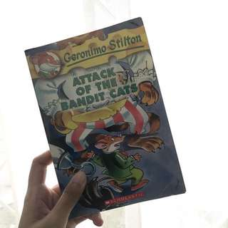 Geronimo Stilton, Attack of the Bandit Cats (English)