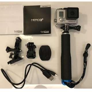GoPro Hero 3+ (Good Condition)