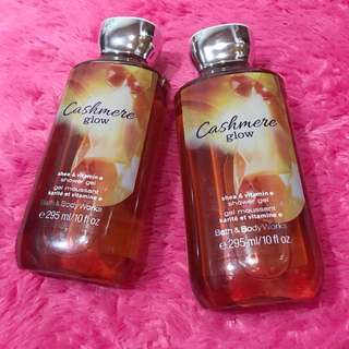 NEW! Bath and Body Works Shower Gel Cashmere Glow 295ml