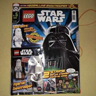 LEGO MAGAZINE 2017 IMPERIAL SNOWTROOPER NEW LIMITED EDITION