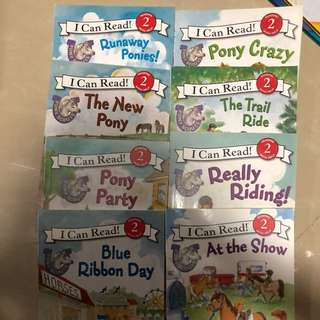 I can read- pony series set (8 books)