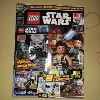 LEGO MAGAZINE 2017 IMPERIAL COMBAT DRIVER NEW LIMITED EDITION