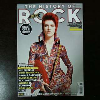 David Bowie etc. | The History of Rock 1972