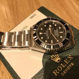 Rolex 16600 full set unpolished