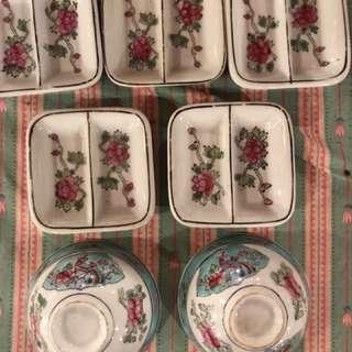 Vantage porcelein set