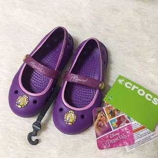 BNWT Crocs Rapunzel Flats