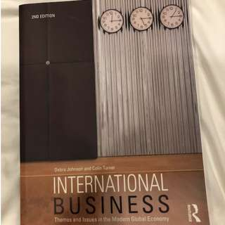 International Business by Debra Johnson and Colin Turner (2nd Edition)