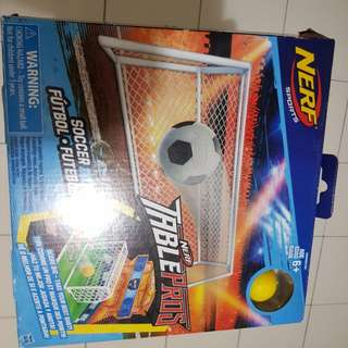 WTS NERF TABLEPROS Basketball and Soccer Game